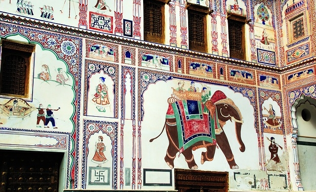 Paseo por Mandawa - India