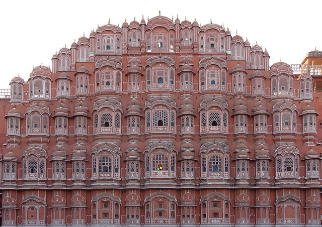 Jaipur Palacio viento