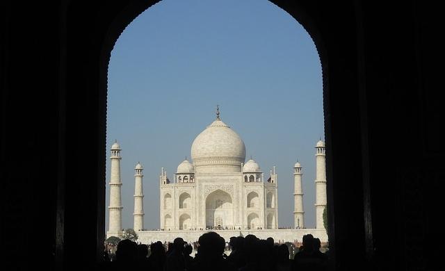 Agra - historia de amor de Taj Mahal