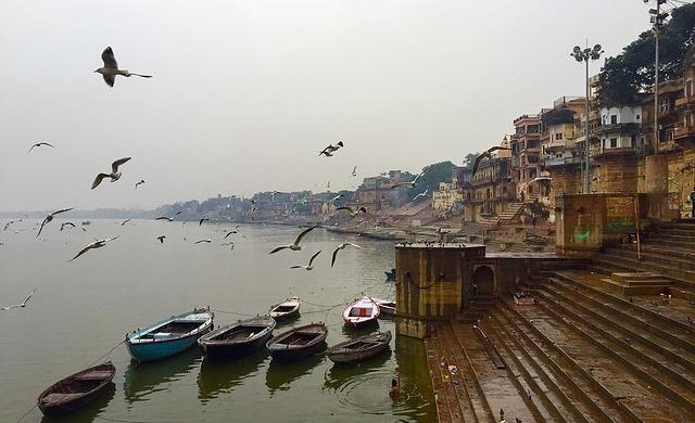 Paseo por Benarés - India